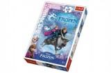 Puzzle Frozen/Ledové království 100 dílků 27,5x41cm v krabici 20x29x4cm Trefl
