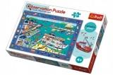 """Puzzle """"Hledání předmětů"""" Přístav 70dílků v krabici 33x23x6cm 4+"""