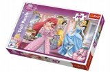 Puzzle Princezny Disney 100 dílků 41x27,5cm v krabici 29x20x4cm