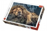 Puzzle Spící Lev 1000 dílků v krabici 40x27x6cm