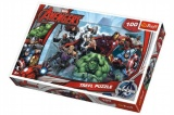 Puzzle The Avengers 100 dílků 41x27,5cm v krabici 29x20x4cm