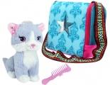 Kočička Sparkle Girlz se stylovou přepravkou Alltoys