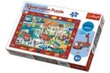 """Puzzle """"Hledání předmětů"""" Hasiči 70dílků v krabici 33x23x6cm 4+"""