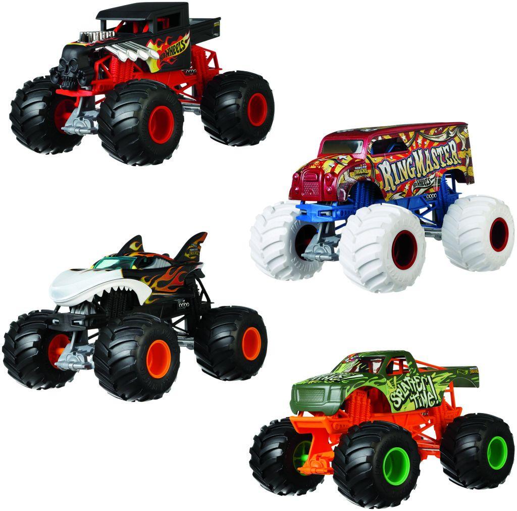 Hot Wheels Monster trucks velký truck Mattel