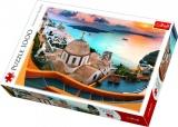 Puzzle Santorini 1000 dílků v krabici 40x27x6cm Trefl