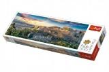 Puzzle Acropolis, Atény panorama 500 dílků 66x23,7cm v krabici 40x13x4cm