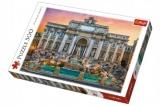 Puzzle Fontanna di Trevi, Řím 500 dílků 48x34cm v krabici 40x27x4,5cm