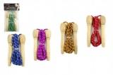Švihadlo 2,7m s dřevěnou rukojetí asst mix barev v sáčku CZ design Teddies