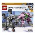 Lego 75937 Overwatch D.Va a Reinhardt