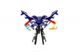 Motorka/Robot transformer plast 11cm asst mix barev na kartě Teddies