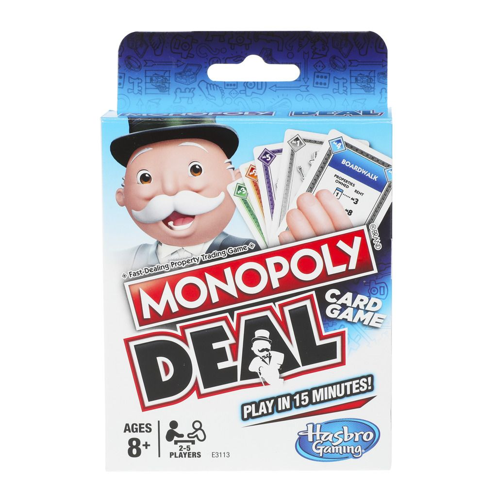 Monopoly Deal karetní hra Hasbro