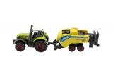 Sada farma zemědělské stroje 6ks plast/kov asst 4 druhy v krabici 21x27x5,5cm Teddies