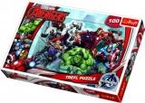 Puzzle The Avengers 100 dílků 41x27,5cm v krabici 29x20x4cm Trefl