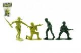 Vojáci plast 9cm v sáčku
