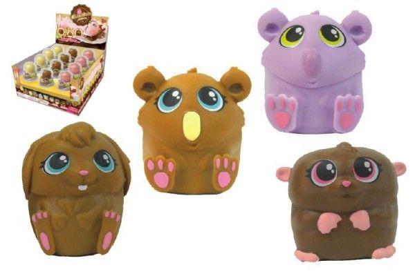 Chocotinis voňavá pralinka/zvířátko 5cm asst mix druhů v krabičce 24ks v boxu TM Toys