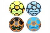 Míč fotbalový Dunlop šitý asst 4 barvy v sáčku