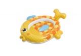 Bazén dětský ryba nafukovací 140x124x34cm Teddies