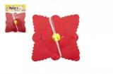 Girlanda papírová čtverec 4m v sáčku