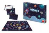 Hravý Vesmír pro malé dobrodruhy stolní společenská hra v krabici 33x23x4cm