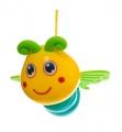 Hrazda pro děti s podložkou a chrastítky v plastové tašce 38x68x6cm Teddies