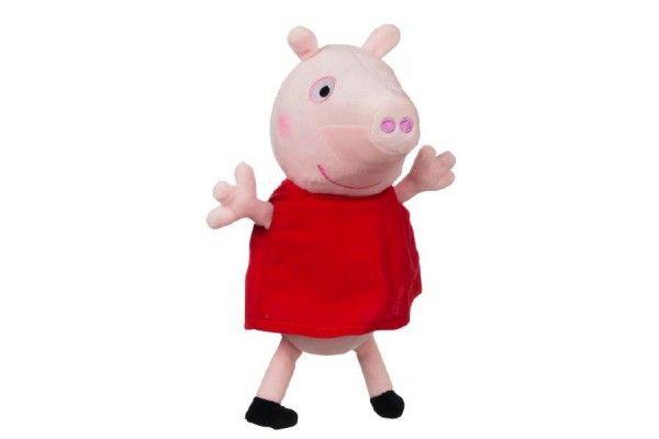 Prasátko Peppa postavička Pepina plyš 25cm v sáčku 0m+ TM Toys