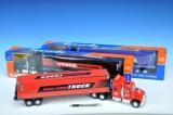 Kamion kontejnerový 57cm na setrvačník asst 3 barvy v krabičce