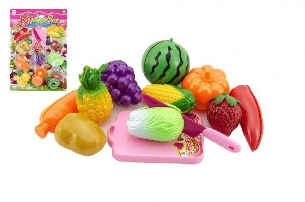 Ovoce a zelenina krájecí plast na kartě