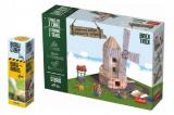 Pack Stavějte z cihel Větrný mlýn stavebnice Brick Trick + lepidlo grátis v krabici 35x25x7cm