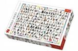 Puzzle 208 Kočiček 1000 dílků 68x48cm v krabici 40x27x6cm