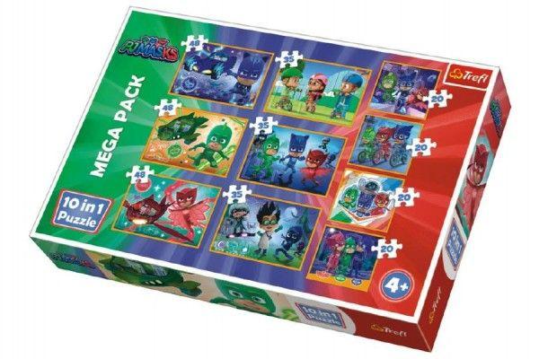 Puzzle PJ Masks 10v1 v krabici 40x27x6cm Trefl