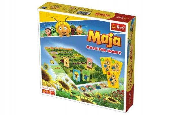 Včelka Mája závod o med stolní hra v krabici 24x25x5cm 5+ Trefl
