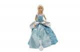 Panenka zimní princezna plast 28cm v krabici 27x33x8cm Teddies