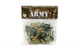 Sada vojáci 2 barvy plast CZ design na kartě 18x19,5cm Teddies