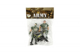 Sada vojáci s doplňky plast CZ design na kartě 11,5x16cm Teddies