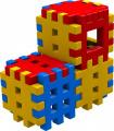 Stavebnice Blok 1 plast 36ks v krabici 34x7x7cm Vista