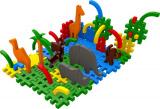 Stavebnice Blok 4 ZOO plast 235ks v krabici 35x33x10cm SEVA