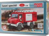 Stavebnice Monti 16 Fire Brigade Mercedes Unimog 1:48 v krabici 22x15x6cm Vista