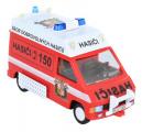 Stavebnice Monti 45 Fire Brigade-Renault Trafic 1:35 v krabici 22x16x5cm SEVA