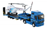 Stavebnice Monti 58 Actros L-MB Helitransport 1:48 v krabici 32x20,5x7,5cm Beneš a Lát