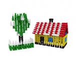Stavebnice Seko 4 plast 600ks v krabici 35x29x3,5cm Vista
