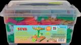 Stavebnice Seva Přijela pouť Jumbo 1486ks v plastovém boxu Vista