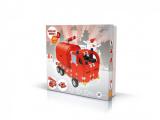 Stavebnice Seva Rescue 1 hasiči plast 545ks v krabici 35x33x8cm Beneš a Lát