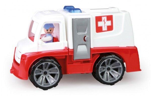 Auto Ambulance Truxx s figurkou plast 29cm 24m+ Lena