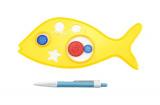Inspiro zvířátko + pero plast 25cm na kartě Teddies