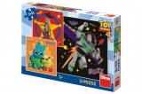 Puzzle Toy Story 4 18x18cm 3x55 dílků v krabici 27x19x3,5cm