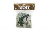 Sada vojáci s doplňky plast CZ design na kartě 24x30cm Teddies