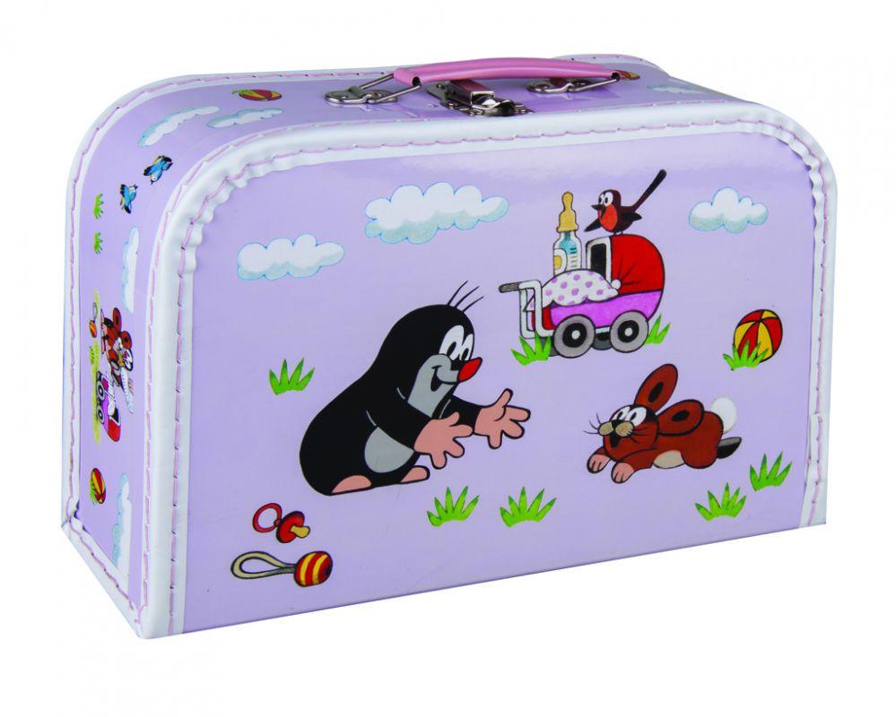 Kufřík Krtek a kočárek 30 cm Kazeto