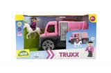 Auto Truxx přeprava koní s figurkami plast 26cm v krabici 39x22x16cm 24m+ Lena