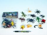 Hmyz plast 5cm asst 12 druhů 12ks v sáčku
