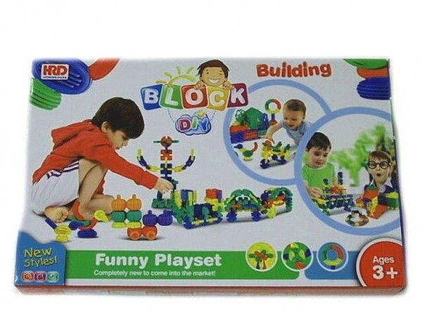 Stavebnice Block plast 36cm v krabici
